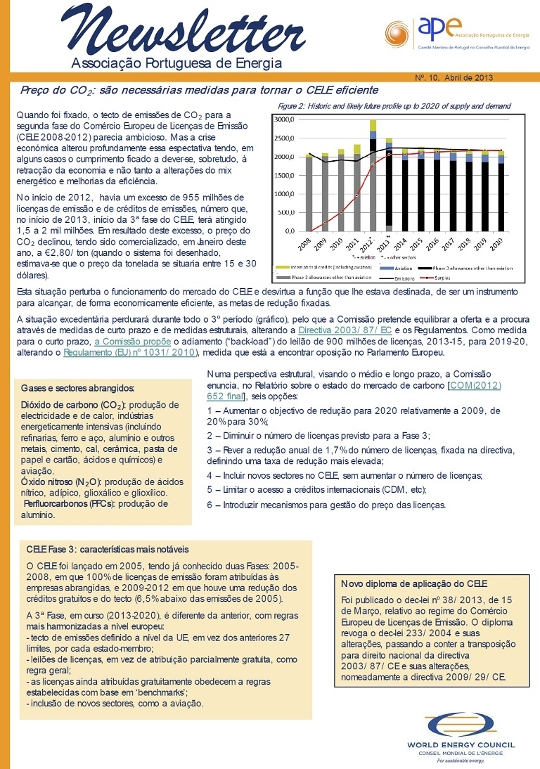 Newsletter APE numero 10_Abril 2013