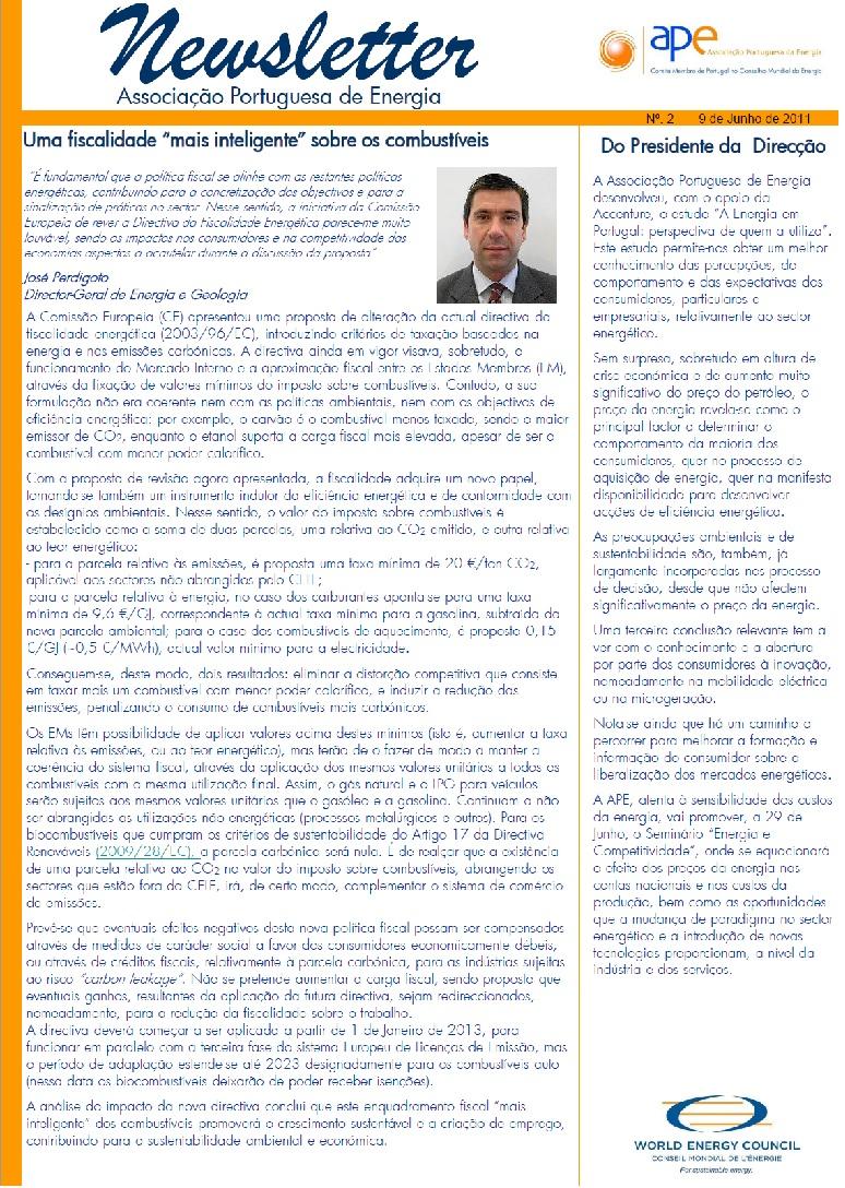 capa newsletter APE n2