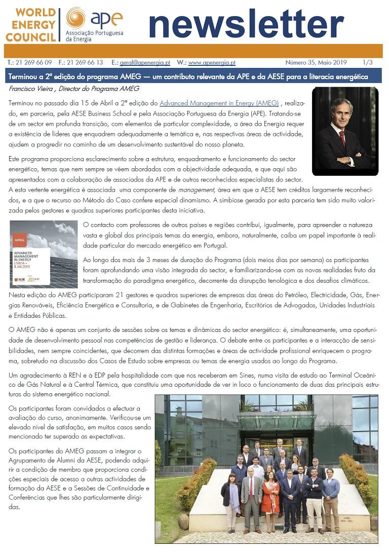 Newsletter APE numero 35_Maio 2019