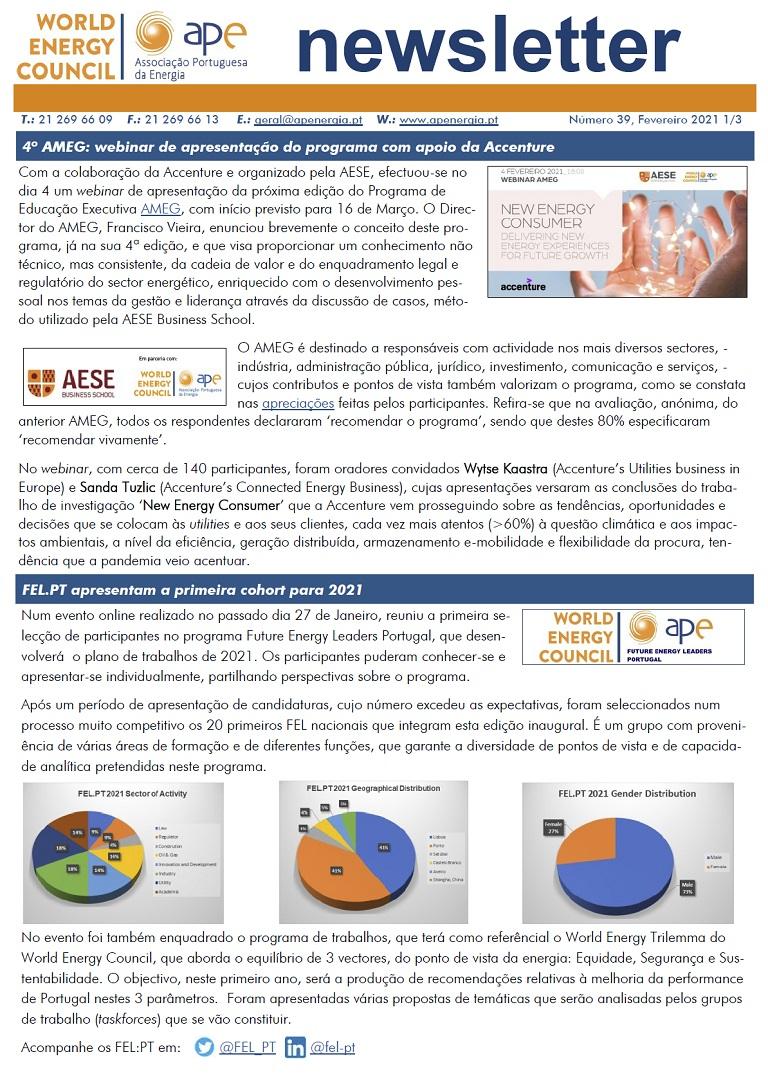 Newsletter APE numero 39_Fevereiro 2021
