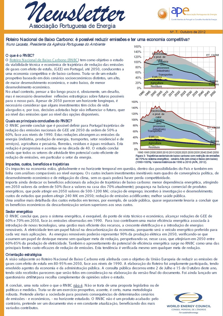 newsletter APE n7 outubro2012