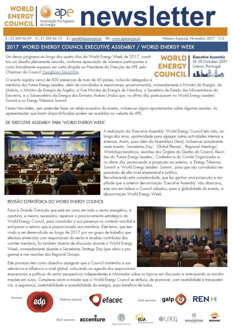 Newsletter APE numero especial_Novembro 2017
